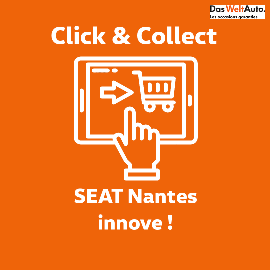 Click and collect SEAT Nantes Véhicules d'occasion